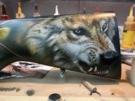 Wolf - Fotorealismo