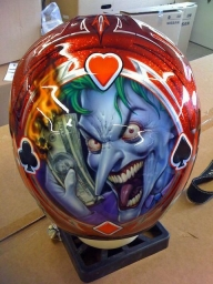 Helmet and comics - Kustom Airbrush