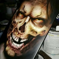 Could be a skateboard?! - Airbrush Artwoks