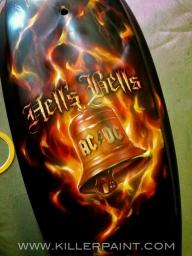 Flames, flames, flames.... - Kustom Airbrush