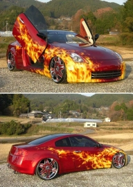 In #Fire! - Tuning Cars Airbrush