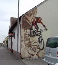 Arbeitsbeispiel-Wandbild Airbrush - Airbrush Artwork and Murals