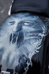 Scream - Airbrush Artwoks