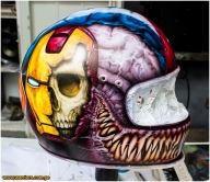 airbrush - custom helmet