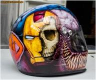iwata - custom helmet