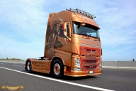 Zeus - Volvo Coming soon collection model 1:32 - ArteKaos Airbrush