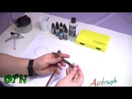 How To #Airbrush for the complete #beginner - #YouTube - Airbrush Step by Step