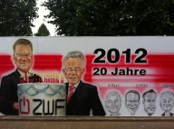 Arbeitsbeispiel-Wandgemälde ZWF Saarbrücken - Airbrush Artwork and Murals