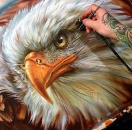 Eagle - Airbrush Artwoks
