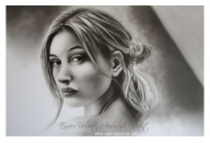 airbrush on paper, cm.40x60,  - Airbrush Artwoks