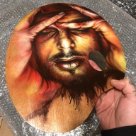 """Tavolozza"" cit #artekaos: #Airbrush is #Art.