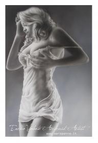 aerografia in monocromia  - Airbrush Artwoks