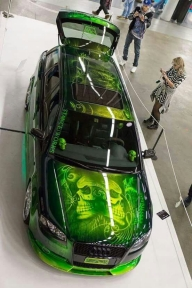 Tuning and Airbrush - Aerografia su Gomme