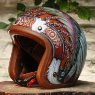 Chief Airbrush helmet - Airbrush Artwoks