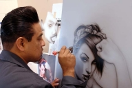 Fonzi, great Artist - Kustom Airbrush