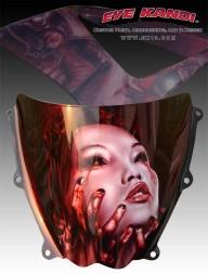 Cool! Eye Kandi #Custom Paint and Airbrushing - Kustom Airbrush