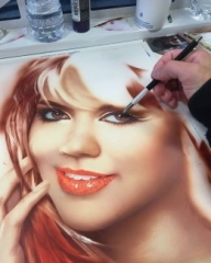 Awesome #Airbrush Gallery - airbrushtutor - Airbrush Step by Step