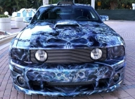 Ford Mustang GT - Kustom Airbrush