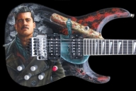 Inglorious Bastards - Custom Guitar by RCAGuitars.com - Airbrush Artwoks