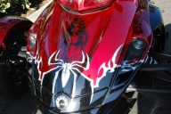 Custom Spiderman on Trike - Aerografia su Gomme