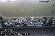 Airbrush on Kia Soul - Kustom Airbrush