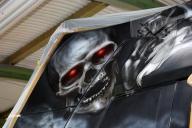 SCANIA V8 Airbrush Truck Seemann - Airbrush Fachgeschäft und Custompaintstudio - Airbrush Artwoks