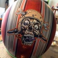 Funny Helmet - Kustom Airbrush