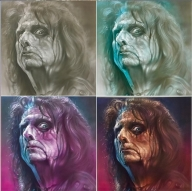 Alice Cooper - By Steve Gibson - Favorite Art