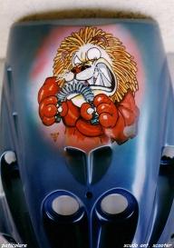 Scooter Shield - ArteKaos Airbrush