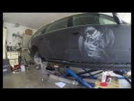 Airbrush Car Audi A6 full custom paint - Gerald Kainer - Tutorials