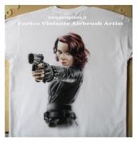 airbrush on t-shirt - Airbrush Artwoks