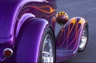 Old Style, Old school #Flames - Kustom Airbrush