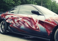 Airbrush art, Daniil Falin - Tuning Cars Airbrush