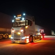 Spartan at Night - Show Truck by ArteKaos - ArteKaos Airbrush
