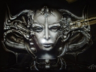 Airbrush Giger art by ~aircap on deviantART - Favorite Art