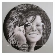 Airbrush on vinyl recors - Airbrush Artwoks