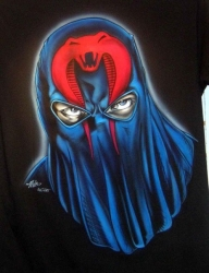 Cobra Commander by Tim Miklos - My Paintings