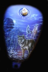 wolfs - Airbrush Artwoks