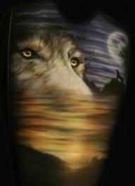 wolf - Airbrush Artwoks
