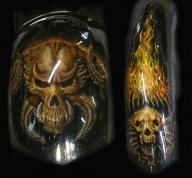 hell skuls - Airbrush Artwoks