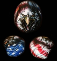 american eagle - Helmets Airbrush