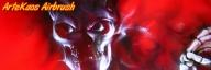 Banner Airbrush | Flickr – Ghost Skull - ArteKaos Airbrush