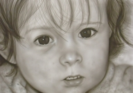 Airbrushportrait 100 x 70 cm freehand - Kustom Airbrush