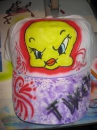 one of my airbrushed caps  #airbrush #aerografia - airbrush caps
