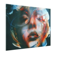 """Marylin..."", ArteKaos Wrapped Gallery Canvas 48 x 32 - Official Art Prints"