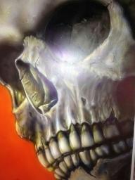 Airbrush Skull - Kustom Airbrush