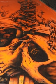 Shawn Wilken | Art on Everything - airbrushed continental