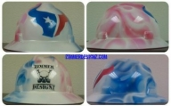 Airbrush hard hats and helmets Houston Texas - Airbrush Houston - My Designs