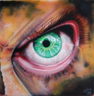 Acrilyc on canvas - Airbrush Artwoks