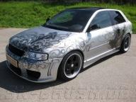 Audi A3 Airbrush | airbrush assassin audi - Kustom Airbrush